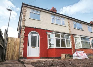 Thumbnail 3 bed semi-detached house for sale in Station Road, Wigston, Leicestershire