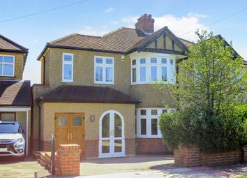Thumbnail 3 bed semi-detached house for sale in Raeburn Avenue, Berrylands, Surbiton