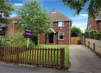 Thumbnail 2 bed semi-detached house for sale in Fairway, Grimsby