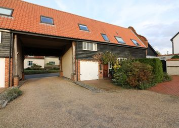 Thumbnail 2 bed barn conversion for sale in The Street, Redgrave, Diss