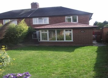 Thumbnail 3 bed semi-detached house to rent in Larchdene Avenue, Wollaton, Nottingham