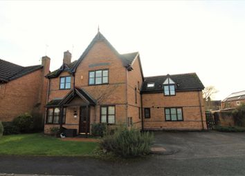 Thumbnail 5 bed detached house for sale in Briar Close, Cross Lanes, Wrexham