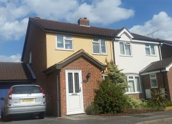 Thumbnail 3 bed semi-detached house to rent in Foden Avenue, Ipswich