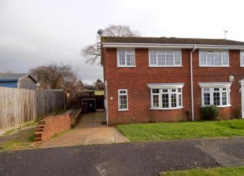 Thumbnail 3 bedroom end terrace house to rent in Howard Close, Hailsham