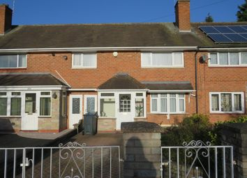 3 bed terraced house for sale in Longmeadow Crescent, Shard End, Birmingham B34