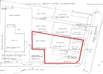 Thumbnail Land for sale in York Street, Stanley