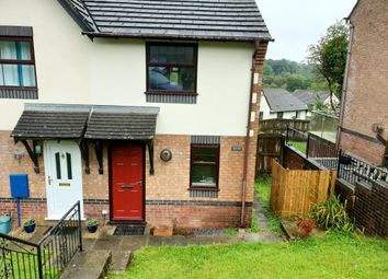 Thumbnail 2 bed end terrace house to rent in Ffordd Taliesin, Killay