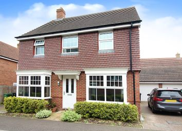 Thumbnail 4 bed detached house for sale in Dunnock Drive, Costessey, Norwich