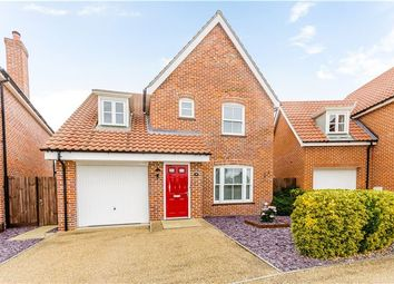 Thumbnail 4 bed detached house for sale in Cyprian Rust Way, Soham, Ely