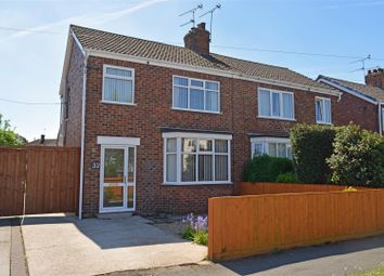 Thumbnail 3 bed semi-detached house for sale in Kathleen Avenue, Scunthorpe