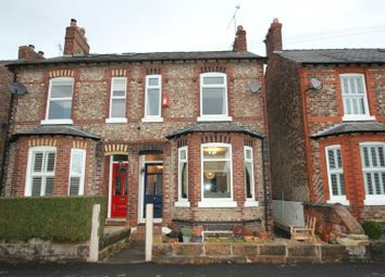 Thumbnail 3 bed terraced house for sale in York Road, Bowdon, Altrincham
