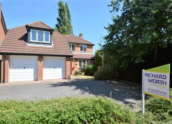 Thumbnail 5 bed detached house for sale in Spencer Close, Wokingham, Berkshire