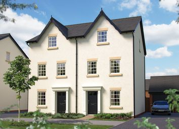 "Thumbnail 3 bed town house for sale in ""The Polesworth"" at Harbury Lane, Heathcote, Warwick"