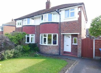 Thumbnail 3 bed semi-detached house for sale in Norbury Drive, Marple, Stockport