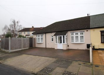 Thumbnail 2 bed semi-detached bungalow for sale in Hill Crescent, Hornchurch