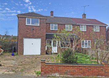 Thumbnail 4 bed semi-detached house for sale in Lambourne Drive, Hutton, Brentwood, Essex