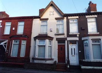 Thumbnail 3 bed terraced house for sale in Ingrow Road, Liverpool, Merseyside, England