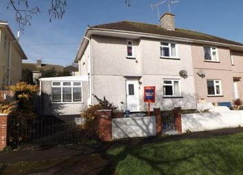 Thumbnail 3 bedroom semi-detached house for sale in Torpoint, Cornwall