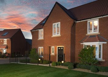 "Thumbnail 4 bedroom detached house for sale in ""Winstone"" at Michaels Drive, Corby"