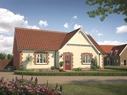 Thumbnail 3 bedroom detached bungalow for sale in The Catchpole At Saxon Meadows, Capel St Mary, Suffolk