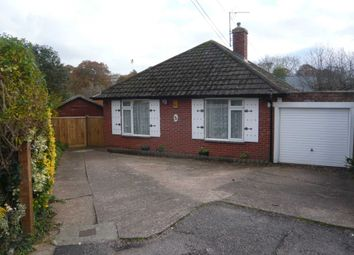 Thumbnail 2 bed detached bungalow for sale in Dene Close, Exmouth