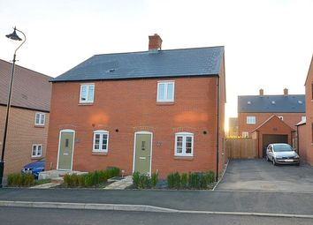 Thumbnail 2 bed semi-detached house for sale in Wetherby Drive, Towcester