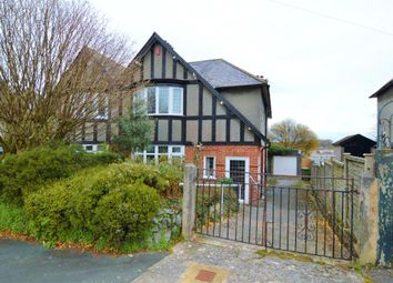 Thumbnail 4 bed semi-detached house for sale in Hill Lane, Plymouth, Devon