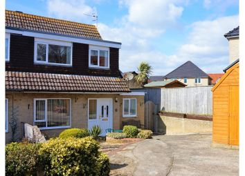 Thumbnail 3 bed semi-detached house for sale in Tyneham Close, Weymouth
