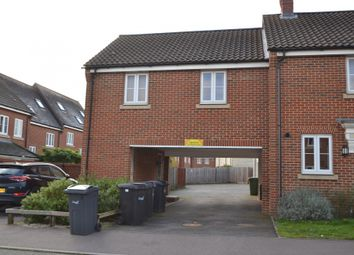 Thumbnail 1 bed flat to rent in Lord Nelson Drive, Costessey, Norwich, Norfolk