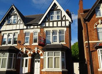 Thumbnail 1 bed flat to rent in Devonshire Road, Handsworth Wood, Birmingham
