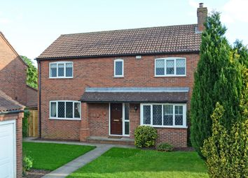 Thumbnail 4 bed detached house for sale in School Lane, Copmanthorpe, York