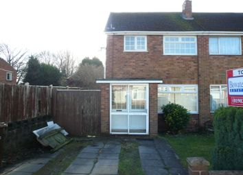 Thumbnail 3 bed semi-detached house to rent in Duke Streeet, Wednesfield