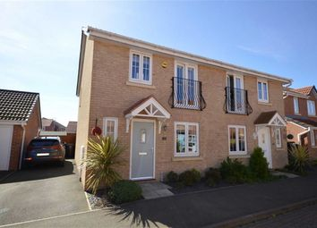 Thumbnail 3 bed property for sale in Julius Way, North Hykeham, Lincoln