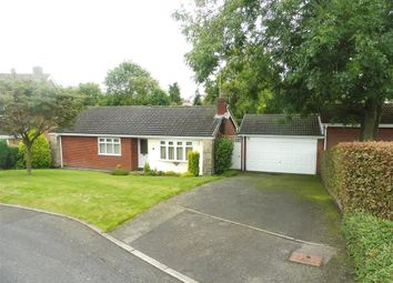 Thumbnail 3 bedroom detached bungalow for sale in Caversfield Close, Littleover, Derby