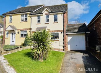 3 bed semi-detached house for sale in Curlew Close, Torquay TQ2