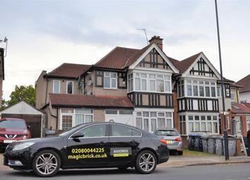 Thumbnail 1 bed flat to rent in Draycott Avenue, Kenton, Harrow