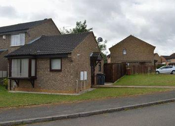 Thumbnail 1 bedroom semi-detached bungalow for sale in Ludlow Close, Southfields, Northampton