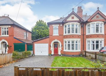 Thumbnail 3 bed semi-detached house for sale in Shardlow Road, Alvaston, Derby
