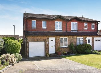 Thumbnail 4 bed semi-detached house for sale in Rushmoor Gardens, Calcot, Reading