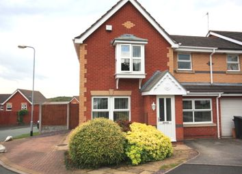 Thumbnail 3 bed end terrace house for sale in Burnwood Grove, Kidsgrove, Stoke-On-Trent