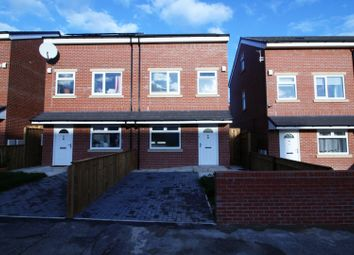 Thumbnail 4 bed semi-detached house for sale in Thompson Street, Manchester, Greater Manchester