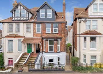 Thumbnail 4 bed semi-detached house for sale in East Cliff Gardens, Folkestone