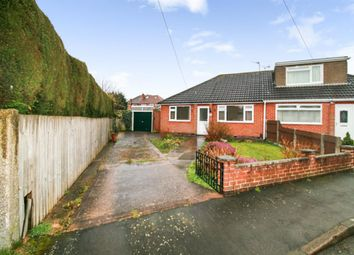 Thumbnail 2 bed bungalow for sale in Hazel Close, Birstall, Leicester