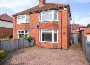 Thumbnail 2 bed semi-detached house for sale in White House Drive, York
