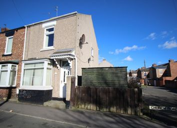 Thumbnail 3 bed terraced house for sale in Church Road, Ferryhill