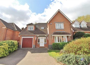 Thumbnail 4 bed detached house for sale in Rush Close, Rushmere St. Andrew, Ipswich