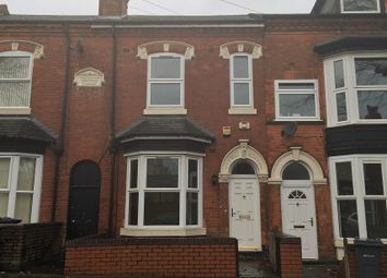 Thumbnail 3 bed terraced house for sale in Linwood Road, Handsworth, Birmingham