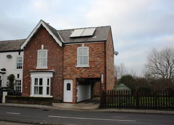 Thumbnail 3 bed end terrace house to rent in Rushgreen Road, Lymm, Warrington
