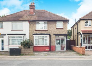Thumbnail 3 bed semi-detached house for sale in Chase Road, Epsom