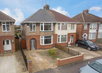 Thumbnail 3 bed semi-detached house for sale in Woodlands Avenue, Corby